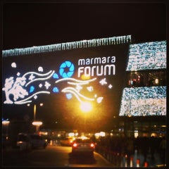 Photo taken at Marmara Forum by Mehmet A. on 11/23/2013