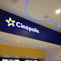 Photo taken at Cinépolis by Fernando P. on 12/26/2012