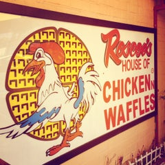 Photo taken at Roscoe's House of Chicken and Waffles by Courtney B. on 5/19/2013