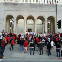Photo taken at Los Angeles Superior Stanley Mosk Courthouse by Batman's K. on 3/25/2013