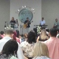 Photo taken at Igreja Mensagem De Paz by Igor O. on 3/9/2014