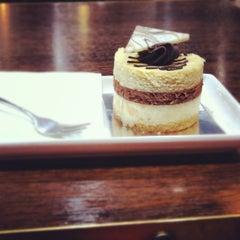 Photo taken at Theobroma Chocolate Lounge by Tara B. on 11/1/2012