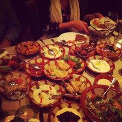 Photo taken at Obeirut Lebanese Cuisine by Dyane G. on 2/13/2013