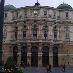 Photo taken at Teatro Arriaga by Kriss A. on 3/28/2013