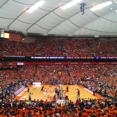Photo taken at Carrier Dome by Mauricio T. on 3/2/2013