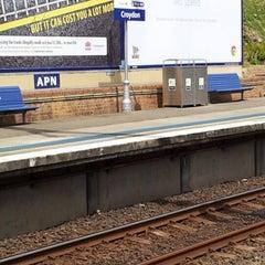 Photo taken at Croydon Station by Avinash P. on 11/19/2012