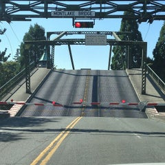 Photo taken at Montlake Bridge by Chris B. on 8/6/2013