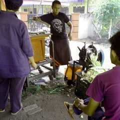 Photo taken at Pulut Panggang Simpang Ampat by pdude on 5/23/2013