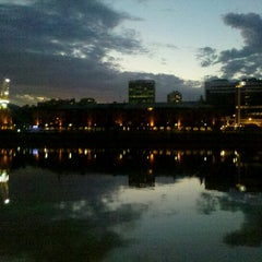 Photo taken at Puerto Madero by Natii E. on 11/18/2012