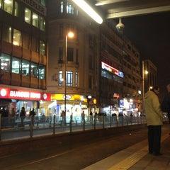 Photo taken at Sirkeci Tramvay Durağı by 'Çiğdem on 1/2/2013