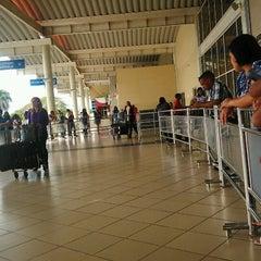Photo taken at Aeropuerto Internacional del Cibao by Juan D. on 1/1/2013
