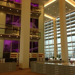 Photo taken at National Library Building by Donna L. on 12/20/2012