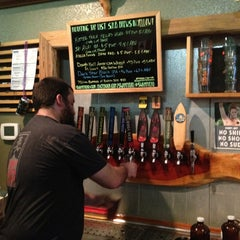 Photo taken at Swamp Head Brewery by Kathy M. on 1/29/2013