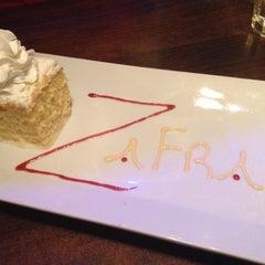 Photo taken at Zafra Cuban Restaurant & Rum Bar by Peter S. on 2/2/2013