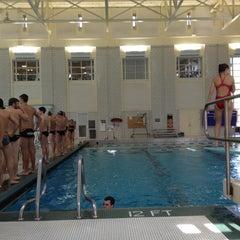 Photo taken at University Center Pool by Joshua C. on 11/10/2012