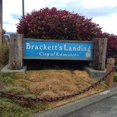 Photo taken at Brackett's Landing by Stacy H. on 10/13/2012