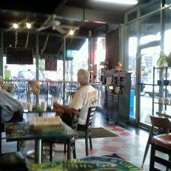 Photo taken at Cups, an Espresso Café by Jeffrey H. on 10/11/2012