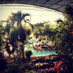 Photo taken at Therme Erding by Philipp R. on 10/30/2012