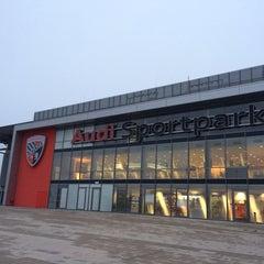 Photo taken at Audi Sportpark by patrick s. on 12/11/2013