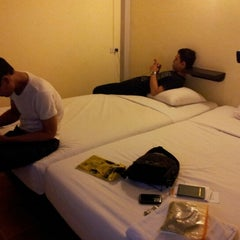 Photo taken at Relax Guesthouse by Bintar I. on 11/16/2012