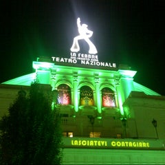 Photo taken at Teatro Nazionale by Tram M. on 10/18/2012