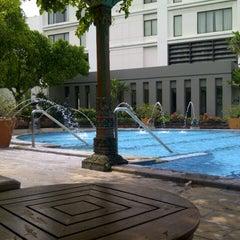 Photo taken at Hotel Bumi Surabaya by vheera on 4/16/2013