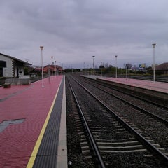 Photo taken at Estación Renfe - Navalmoral De La Mata by Amador G. on 3/23/2013