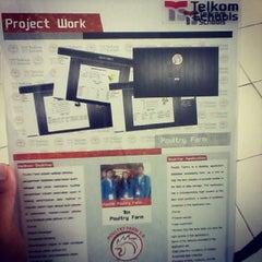 Photo taken at SMK Telkom Sandhy Putra Malang by Aldena Oktavian P. on 3/26/2014