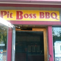 Photo taken at Pit Boss BBQ by Mr P. on 9/22/2012