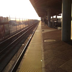 Photo taken at Dublin/Pleasanton BART Station by Mark G. on 4/22/2013
