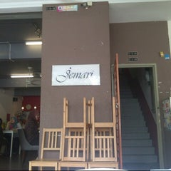 Photo taken at Jemari Cafe by Nora M. on 10/31/2012