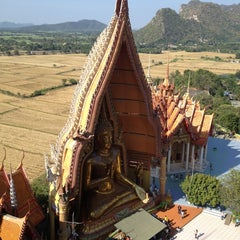 Photo taken at วัดถ้ำเขาน้อย (Wat Tham Kao Noi) by Natalie B. on 12/13/2014