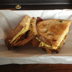 Photo taken at The American Grilled Cheese Kitchen by Jimmy B. on 1/24/2013