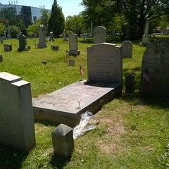 Photo taken at F. Scott Fitzgerald's Grave by Nancy L. on 5/24/2015