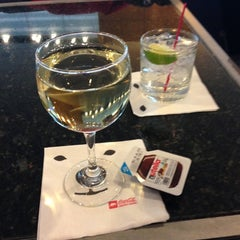 Photo taken at Delta Sky Club by Martha C. on 12/31/2012