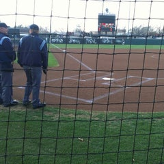 Photo taken at Marita Hynes Field at the OU Softball Complex by Trevor B. on 3/1/2013