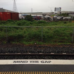 Photo taken at Onehunga Train Station by Clarke B. on 7/3/2014