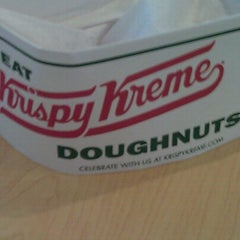 Photo taken at Krispy Kreme Doughnuts by Antoine J. on 9/16/2012