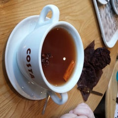 Photo taken at Costa Coffee by Dave H. on 12/8/2013