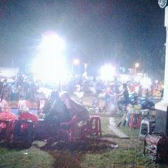 Photo taken at Alun Alun Tegal by Tian on 7/17/2015