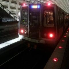 Photo taken at Farragut West Metro Station by Hangyun K. on 10/15/2012
