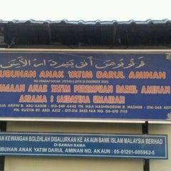 Photo taken at Persatuan Anak Yatim Darul Aminan, NS by amir a. on 10/15/2012