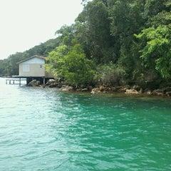 Photo taken at Ilha Grande by Yasmin A. on 12/22/2012
