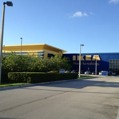Photo taken at IKEA Sunrise by Ignacio D. on 10/12/2012