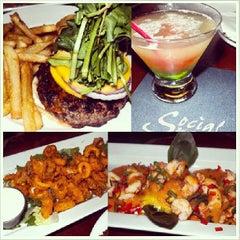 Photo taken at Social Bar, Grill & Lounge by xoJohn.com on 6/14/2013