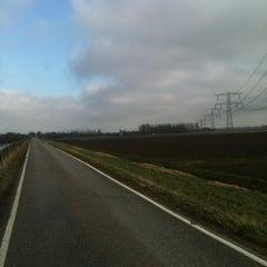 Photo taken at Wieldrechtse Zeedijk by Desiree H. on 2/15/2013