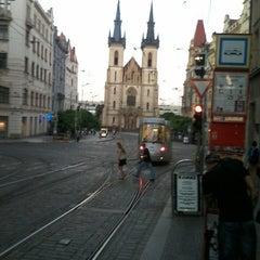 Photo taken at Strossmayerovo náměstí (tram) by Daniel Č. on 9/5/2013