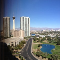 Photo taken at LVH - Las Vegas Hotel & Casino by Michael O. on 10/27/2012