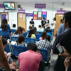 Photo taken at สำนักงานขนส่งกรุงเทพมหานครพื้นที่ 3 (สุขุมวิท 62) by K. C. on 5/22/2015