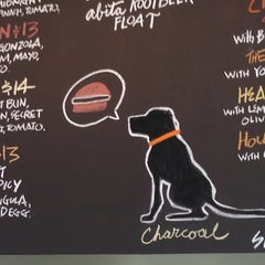 Photo taken at Charcoal's Gourmet Burger Bar by Alleycat on 6/1/2013